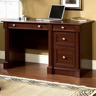 Three Posts Orviston Computer Desk with Keyboard Tray