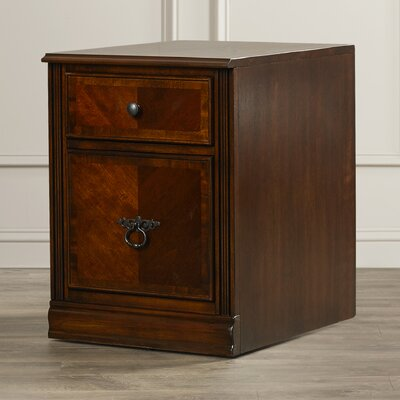 Three Posts Newington 2 Drawer File Cabinet