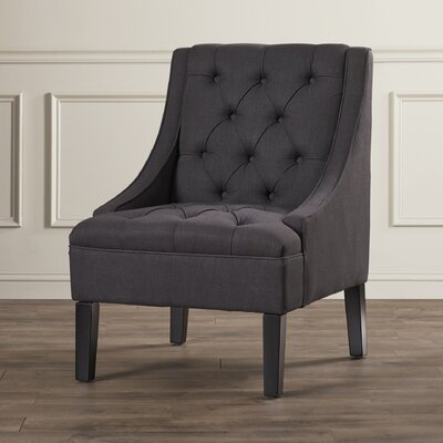 Three Posts Vienna Twilight Upholstered Arm Chair