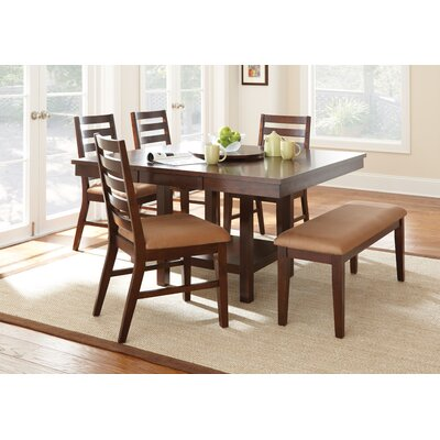 Three Posts Everson 6 Piece Dining Set