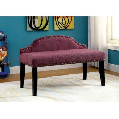 Three Posts Millersburg Upholstered Bedroom Bench