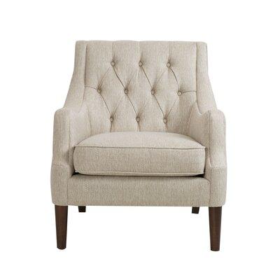 Three Posts Rogersville Button Tufted Armchair