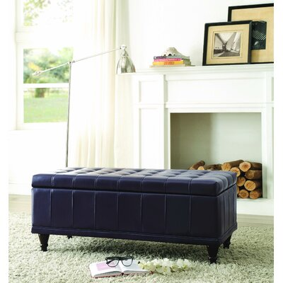 Three Posts Knoxville Storage Bedroom Bench