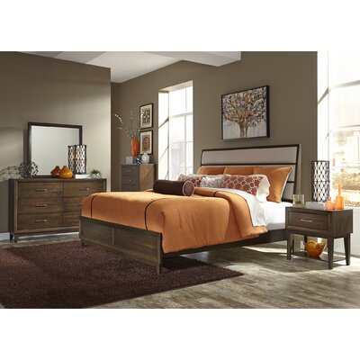 Three Posts Bloomington Panel Customizable 7 Piece Bedroom Set