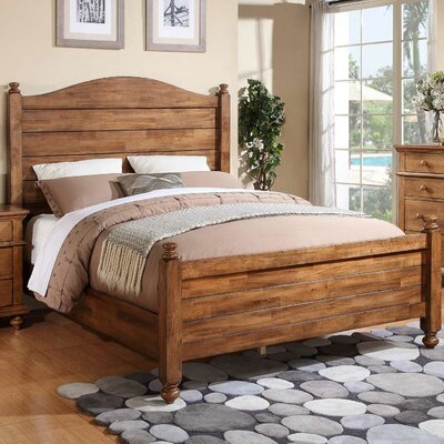 Three Posts Courtdale Panel Bed