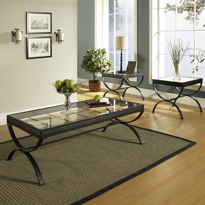 Three Posts Abbot 3 Piece Coffee Table Set