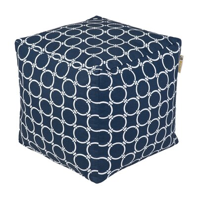 JB Home Harbor Occasional Outdoor Pouf Ottoman
