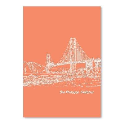 Americanflat 'Skyline San Francisco 8' by Brooke Witt Graphic Art