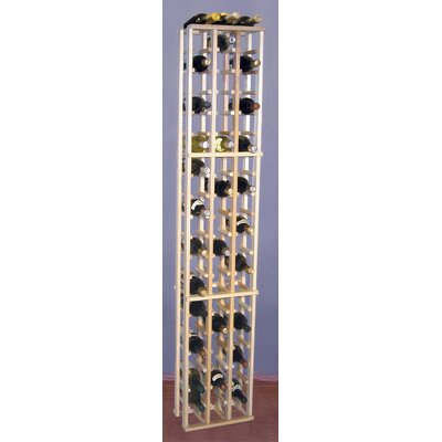 Wine Cellar Innovations Country Pine 63 Bottle Floor Wine Rack