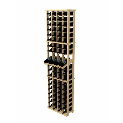 Wine Cellar Innovations Rustic Pine 80 Bottle Wall Mounted Wine Rack