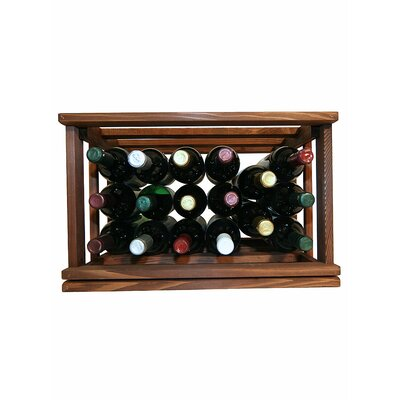 Wine Cellar Innovations Mini Stack Series 17 Bottle Tabletop Wine Rack