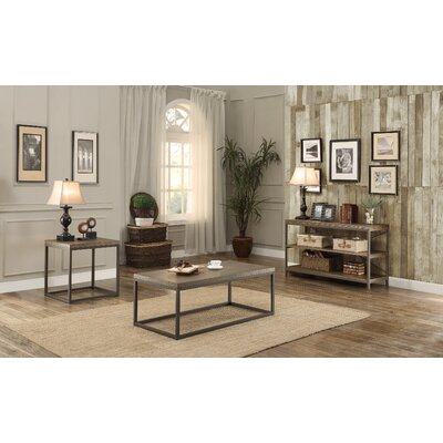 Mercury Row Helene Coffee Table Set