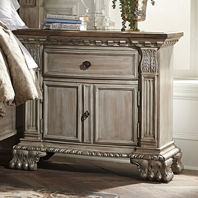 Astoria Grand Chirk 1 Drawer Nightstand
