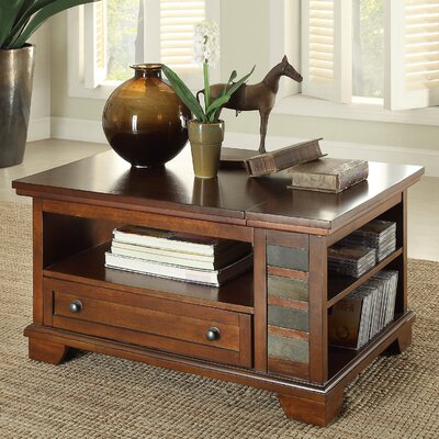 Loon Peak Summit Coffee Table with Lift Top