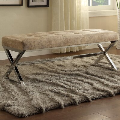 Mercury Row Arreola Upholstered Entryway Bench