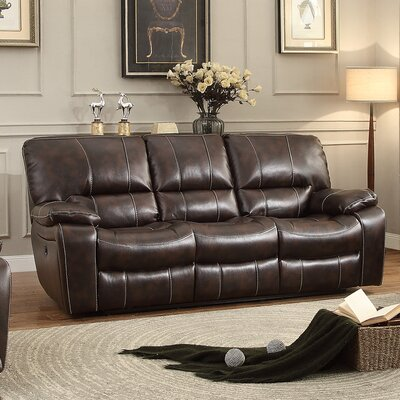 Red Barrel Studio Leland Power Double Reclining Sofa