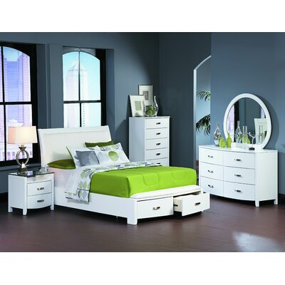 Homelegance Lyric Platform Customizable Bedroom Set