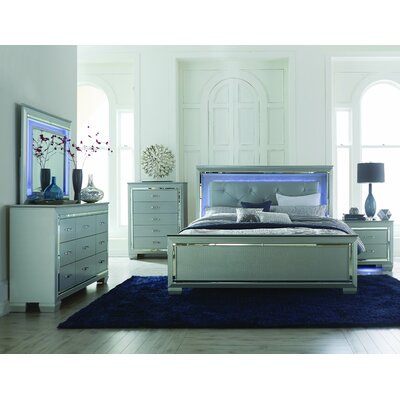 Homelegance Allura Panel Customizable Bed..