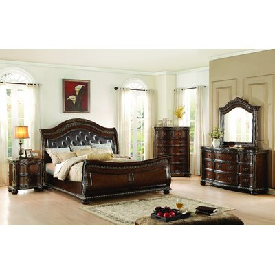 Homelegance Chaumont Sleigh Customizable Bedroom..