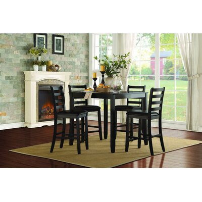 Darby Home Co Littleton 5 Piece Pack Counter Height Dining Set