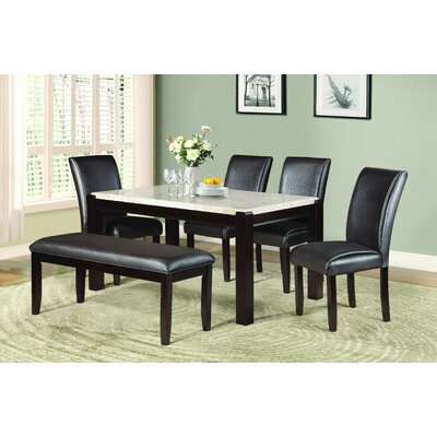 Homelegance Festus 6 Piece Dining Set