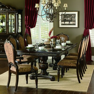 Astoria Grand Clearwell Extendable Dining Table