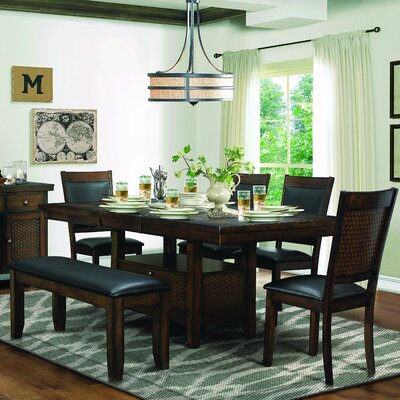 Homelegance Wickham Extendable Dining Table