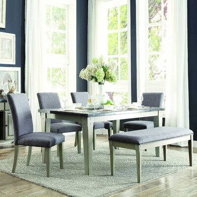 Homelegance Mendel 6 Piece Dining Set