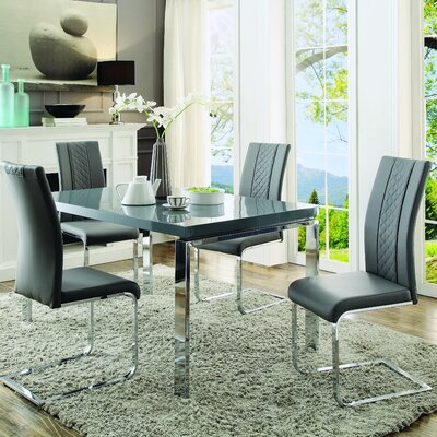 Homelegance Miami 5 Piece Dining Set
