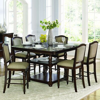 Rosalind Wheeler Marable Counter Height Dining Table