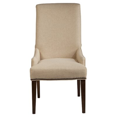 Magnussen Furniture Rothman Warm Stained Upholstered Chairs (Set of 2)