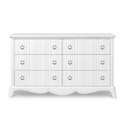 Magnussen Furniture Gabrielle 6 Drawer Double Dresser