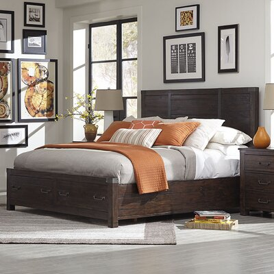 Loon Peak Pine Brook Hill Panel Bed