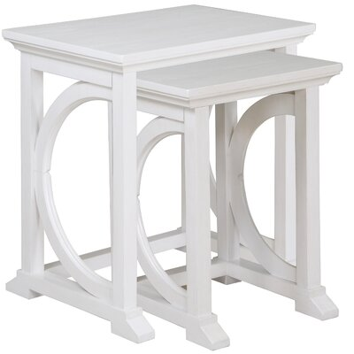 Breakwater Bay Merion 2 Piece Nesting Table