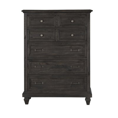 August Grove Delpha 5 Drawer Chest