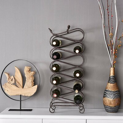 Welland LLC 11 Bottle Floor Wine Rack