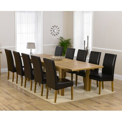 Home Etc Ritual Extendable Dining Table And 10 Chairs Wayfair Uk