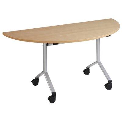 Home & Haus Fliptop Semi Circular Table