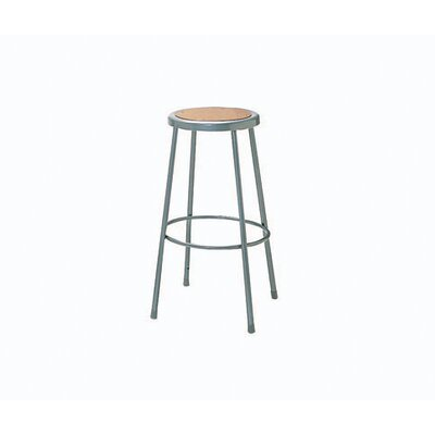 Nexel Height Adjustable Steel Hardboard Seat Stool