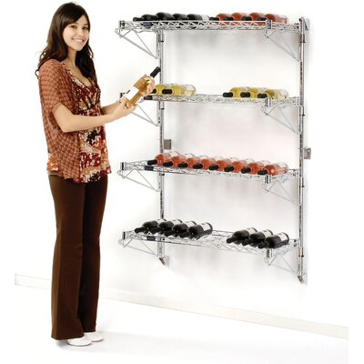 Nexel 52 Bottle Wall Mounted Wine Rack