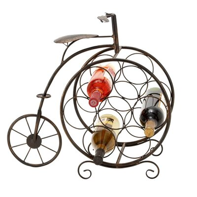 EC World Imports Casa Cortes 7 Bottle Tabletop Wine Rack Image