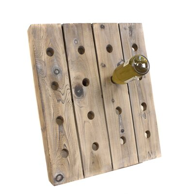 EC World Imports 16 Bottle Wall Mounted Wine Ra..