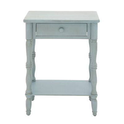 EC World Imports Urban Designs 1 Drawer Nightstand