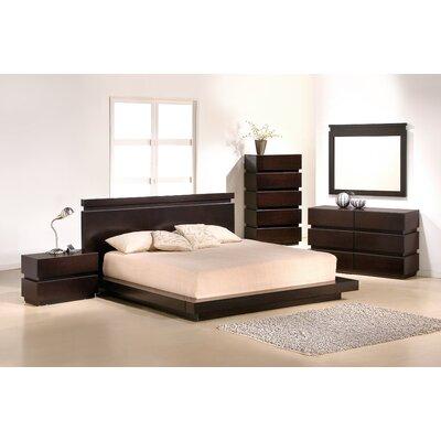 J&M Furniture Knotch Platform Customizable Bedroom Set