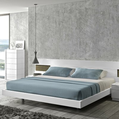 J&M Furniture Amora Platform Bed