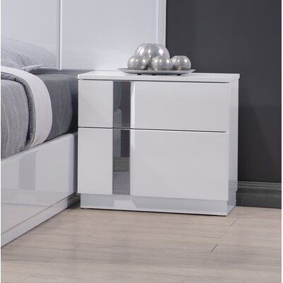 J&M Furniture Palermo Nightstand