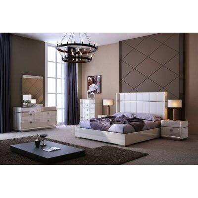 J&M Furniture Paris Platform Bed