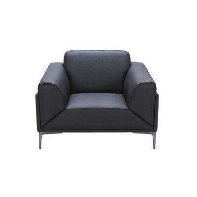 J&M Furniture Knight Leather Club Chair