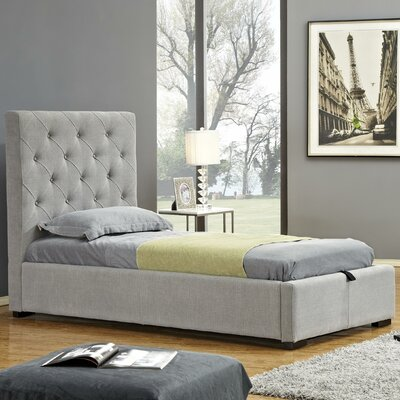 J&M Furniture Upholstered Storage Platform Bed