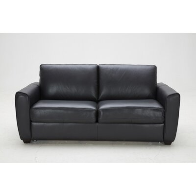 J&M Furniture Ventura Leather Sleeper Sofa